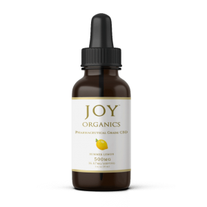 joy organics 500mg lemon cbd