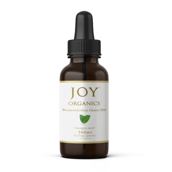 joy organics 500mg mint cbd