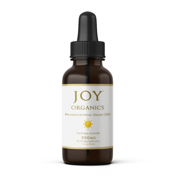 joy organics 500mg natural cbd