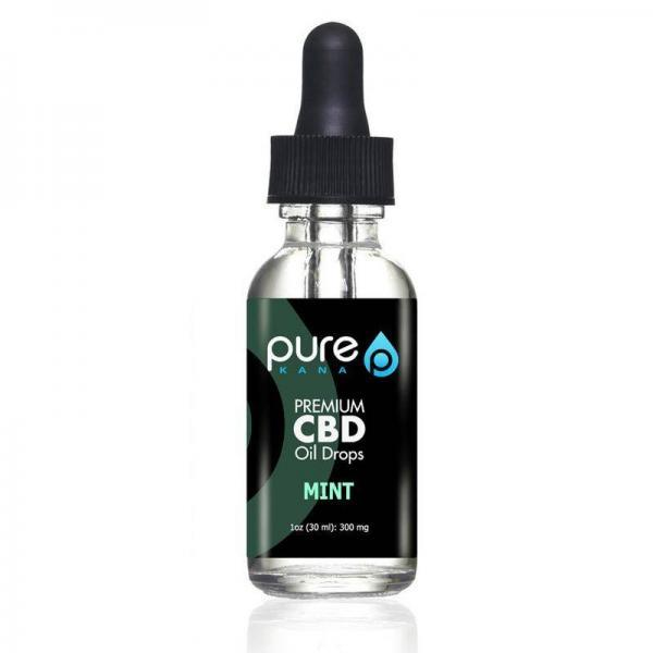pure kana mint 300mg drops